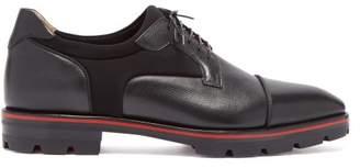 Christian Louboutin Mika Sky Oxford Shoes - Mens - Black