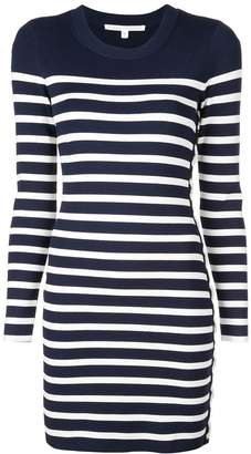 Veronica Beard striped sweater dress
