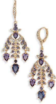 Jenny Packham Navette Petal Chandelier Earrings