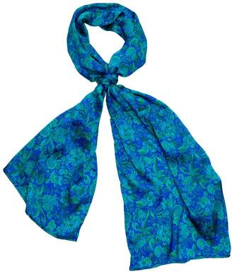 Carousel Jewels - Forest Flowers Silk Scarf