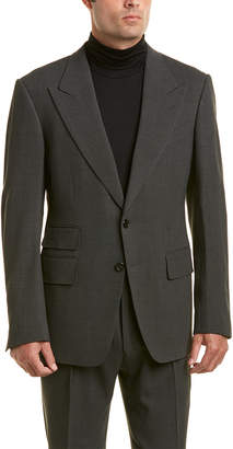 Tom Ford 2Pc Wool-Blend Suit With Pleated Pant