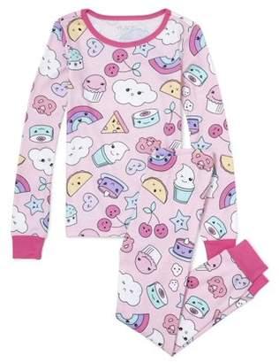 Children's Place The Girl's 2 Piece Kauai Pajama Sleep Set (Big Girls & Little Girls)