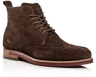 Ted Baker Men's Shennjo Suede Brogue Wingtip Boots