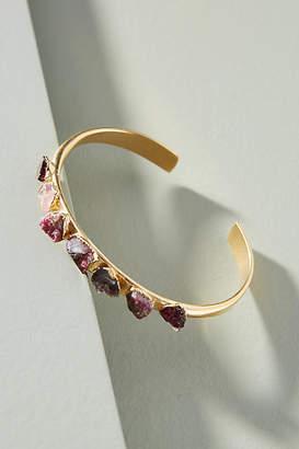 Dani Barbe Raw Gemstone Cuff Bracelet