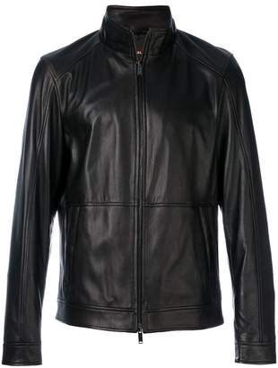 Michael Kors zip up racer jacket