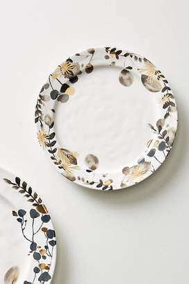 Anthropologie Gilded Botany Side Plate
