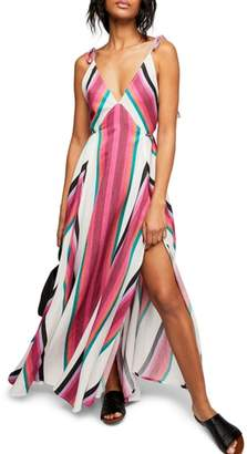 Free People Neon Lights Maxi Dress