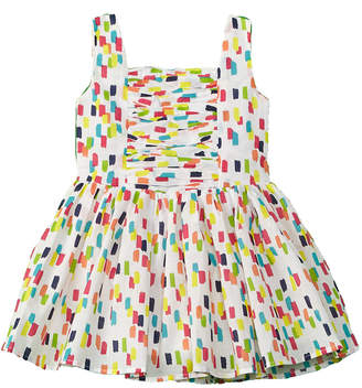 Halabaloo Girls' Brushstroke Dress