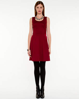 Le Château Ponte Fit and Flare Dress