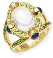 Temple St. Clair Celestial 18K Yellow Gold Statement Ring