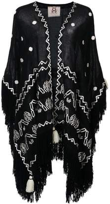 Figue Corazon fringed shawl