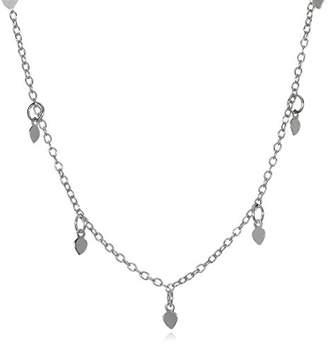 Satya Jewelry Sterling Lotus Petals Choker Necklace