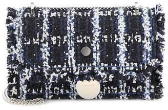 Jimmy Choo Exclusive to Mytheresa – Finley tweed shoulder bag