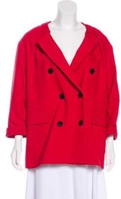 3.1 Phillip Lim Linen-Blend Button-Up Jacket