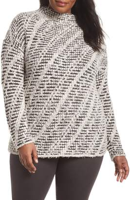 Nic+Zoe Ethereal Textured Knit Sweater