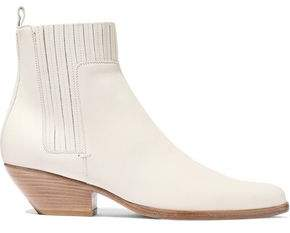 Vince Eckland Leather Ankle Boots
