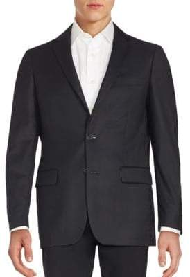 John Varvatos Long Sleeve Woolen Jacket