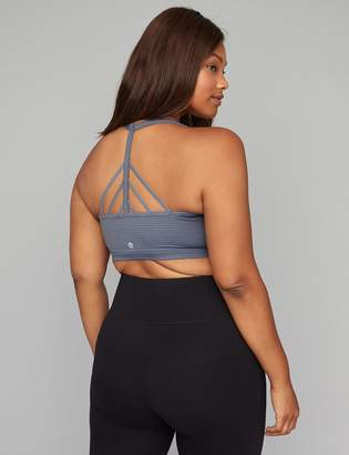 5fdaa00c719d2 at Lane Bryant · Low Impact Wicking Mesh No-Wire Sport Bra