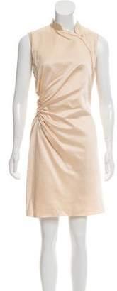Prada Gathered Mini Dress
