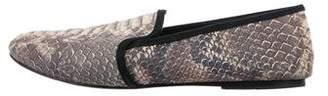 NewbarK Suede Embossed Loafers