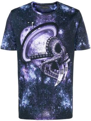 Frankie Morello galactic print T-shirt