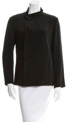 Yohji Yamamoto Silk Long Sleeve Blazer w/ Tags $425 thestylecure.com
