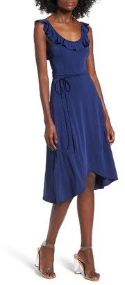Women's Leith Ruffle Tie Waist Dress $69 thestylecure.com