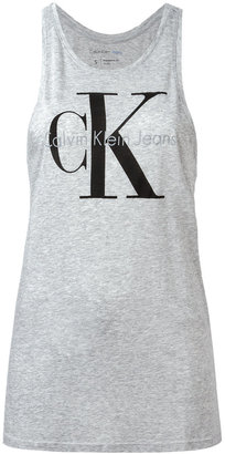 Calvin Klein Jeans tank top with print $39.58 thestylecure.com