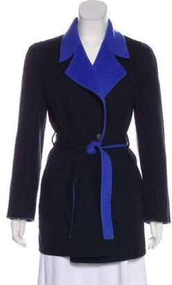 Salvatore Ferragamo Belted Wool Coat