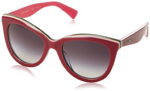 Dolce & Gabbana Women's 0DG4207 Cat-Eye Sunglasses