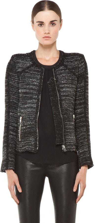 IRO Talia Jacket in Noir