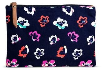 Merona Women's Canvas Pouch $9.99 thestylecure.com