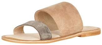 Cream Slide Sandal