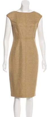 Magaschoni Wool Knee-Length Dress