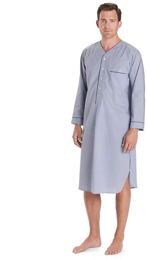 Brooks Brothers Wrinkle-Resistant Broadcloth Nightshirt