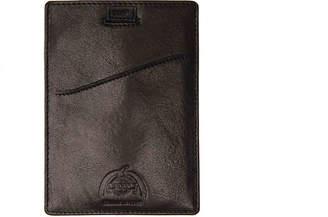 Dopp Carson Pull Tab Leather Passport Case - Men's