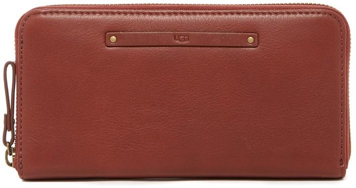UGGUGG Australia Jenna Leather Zip Around Wallet