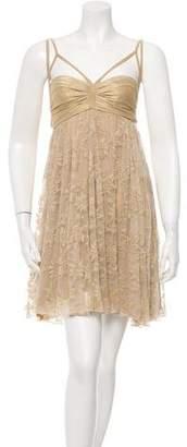 Plein Sud Jeans Sleeveless Lace Dress w/ Tags