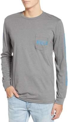 RVCA Reflector Long Sleeve Pocket T-Shirt