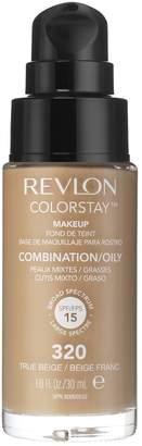 Revlon 3 x Colorstay Pump 24HR Make Up SPF15 Comb/Oily Skin - True Beige
