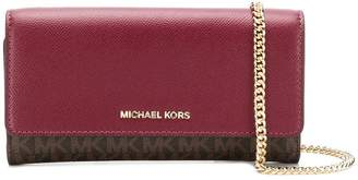 MICHAEL Michael Kors monogram wallet shoulder bag