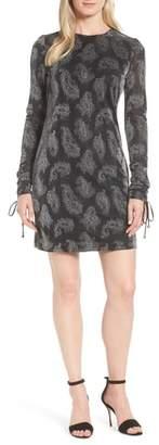 MICHAEL Michael Kors Metallic Paisley Shift Dress