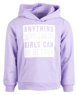 Ideology Little Girls Anything Graphic Hoodie, Created for Macy's