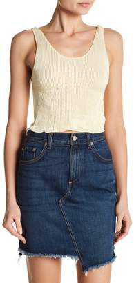 Drifter Clementine Ribbed Crop Tank