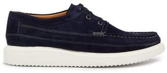 Paul Smith - Seneca Suede Lace Up Shoes - Mens - Navy