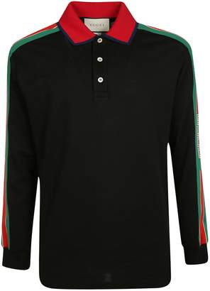 a27e6adaba64 Gucci Polo Shirts For Men Black - ShopStyle