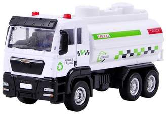 Aipark 1:55 Scale Toy Vehicle, Carrier Vehicle Garbage Truck Toy for Children Toddlers Kids Gift