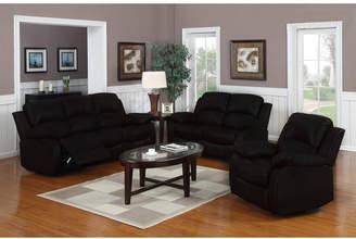 Madison Home USA Classic 3 Piece Leather Living Room Set