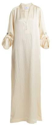 Rebecca De Ravenel Athena V Neck Kaftan - Womens - Ivory