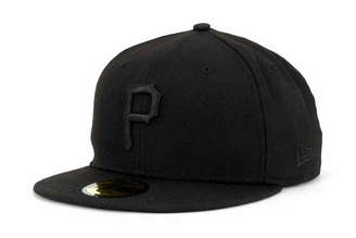 New Era Pittsburgh Pirates Black on Black Fashion 59FIFTY